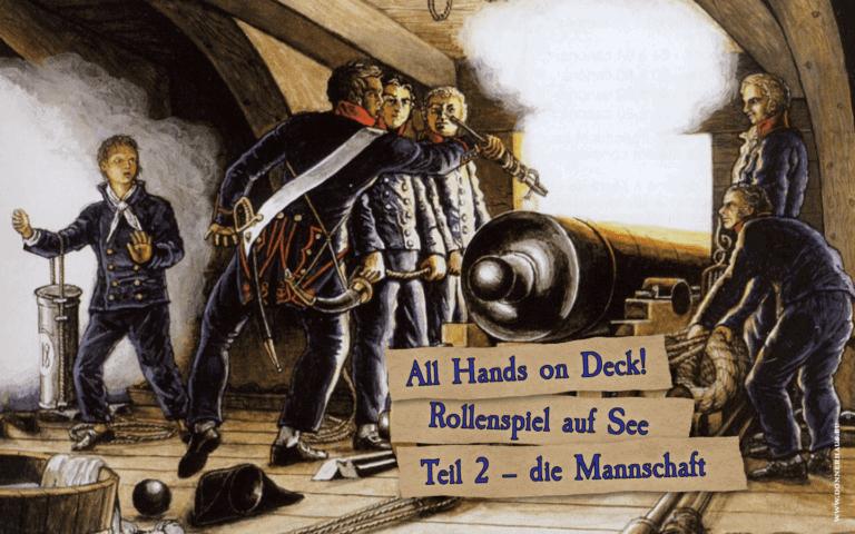Seefahrtskampagnen Teil 2 Cover Kanonencrew