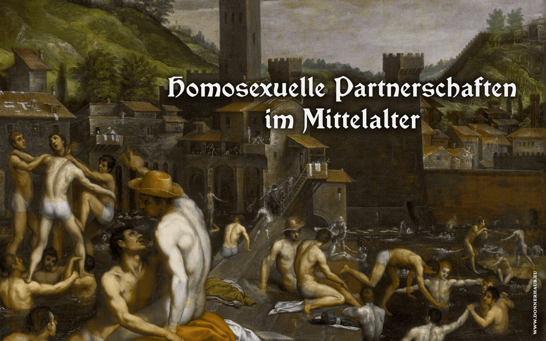 Sexcrimes! – Homosexuelle Partnerschaften im Mittelalter – Geschichtskrümel 84