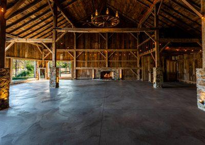 Spacious Barn Interiors in Esperanza Ranch   Oklahoma