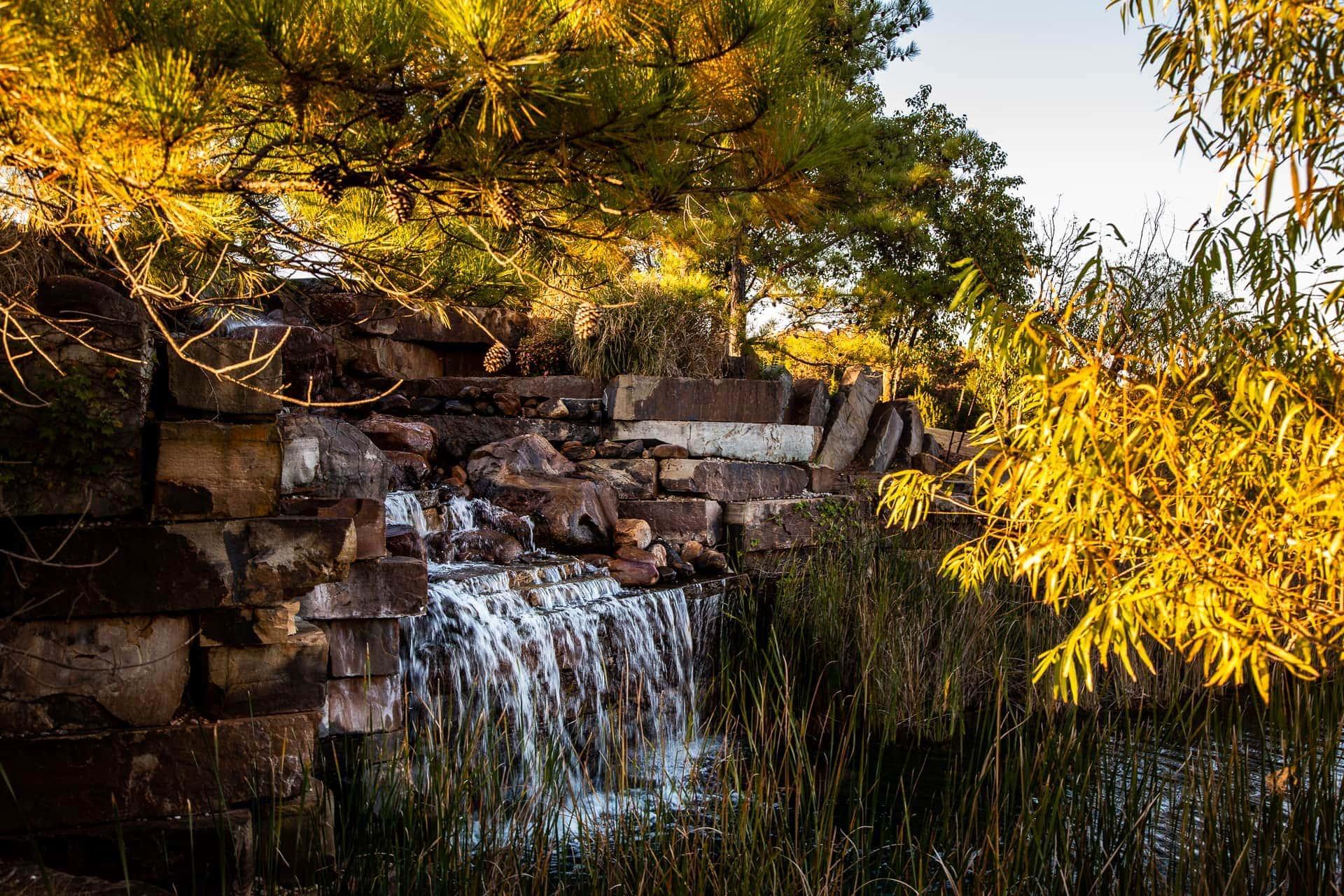 Waterfall at Esperanza Ranch