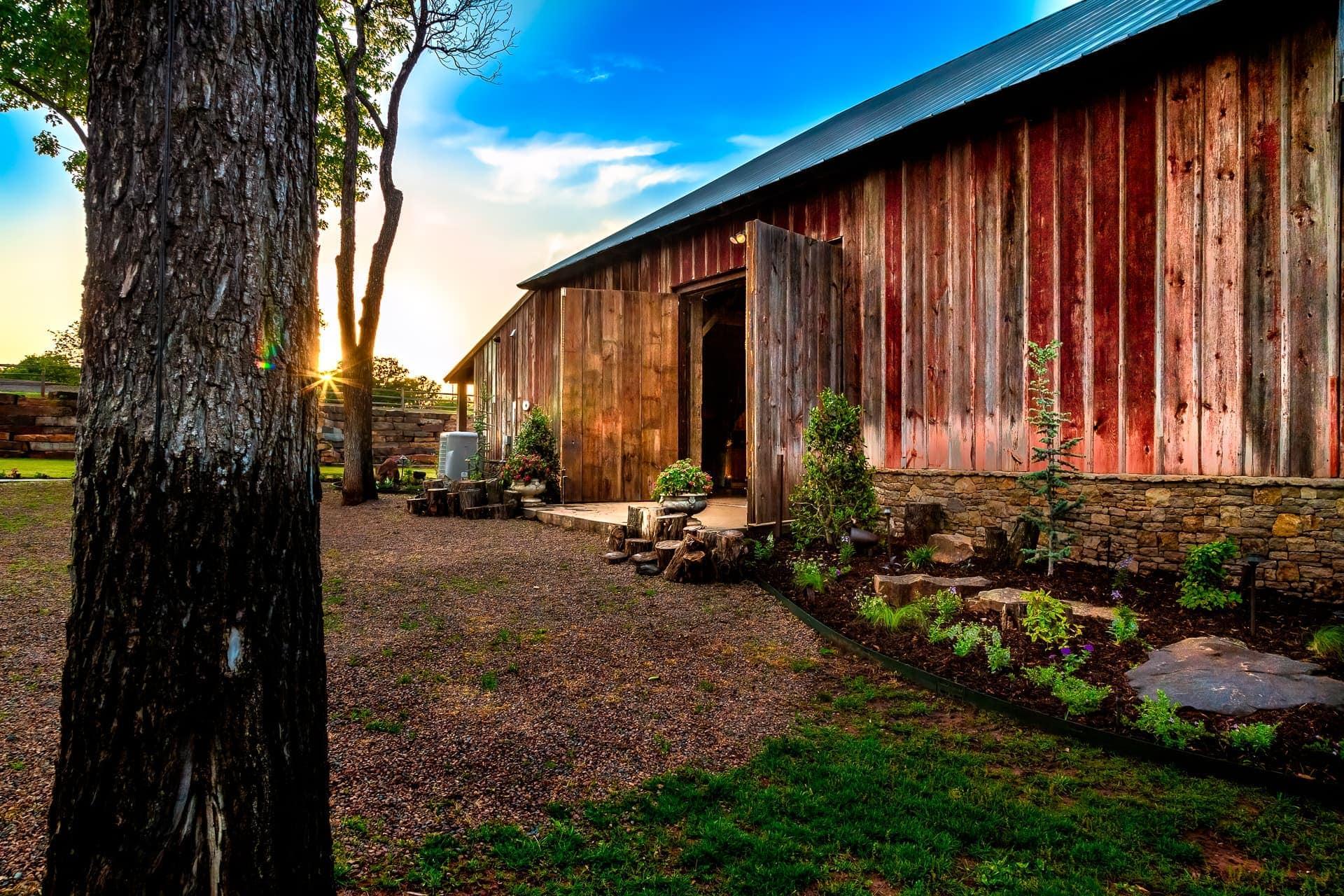 Esperanza Ranch Barn Morning