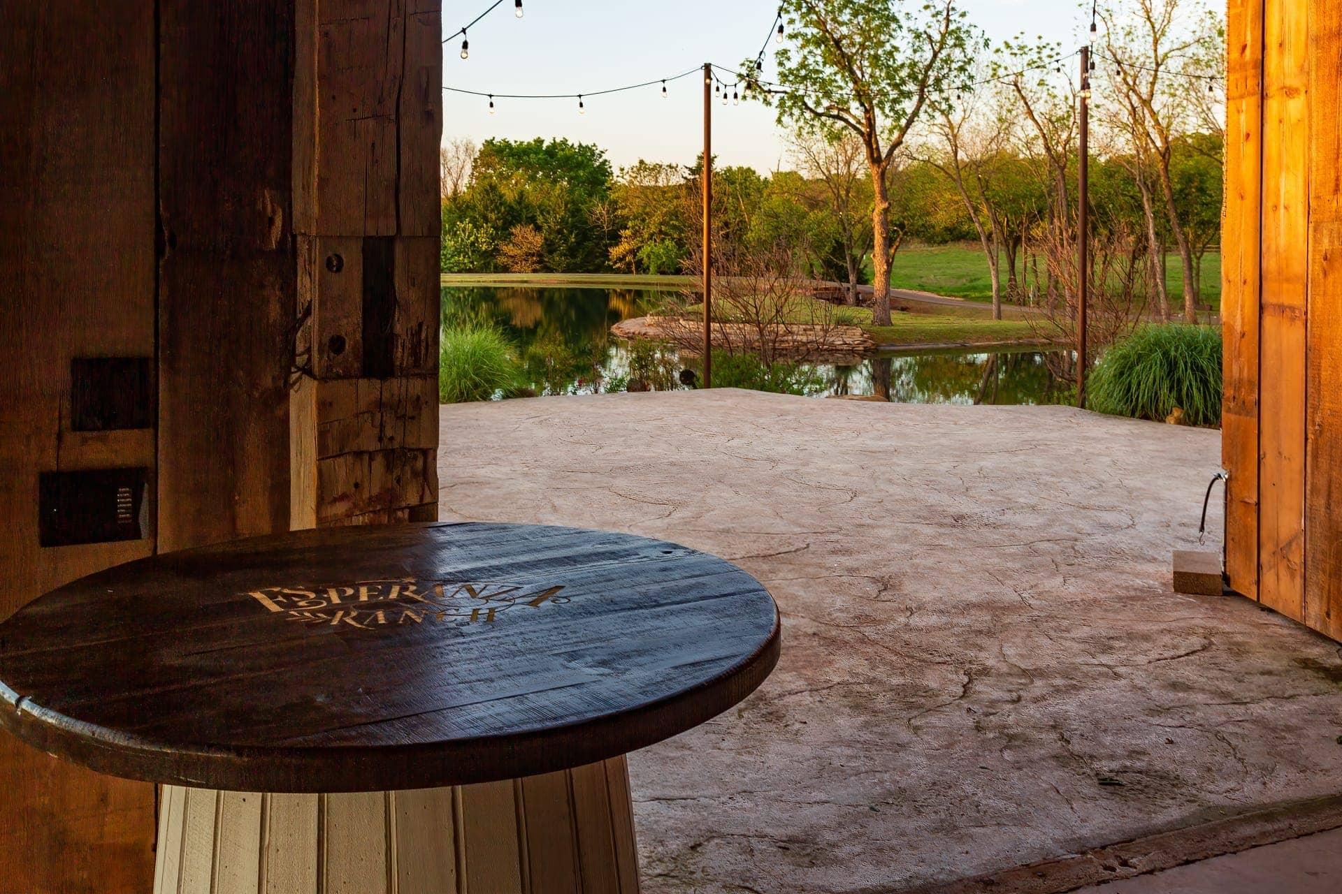 Esperanza Ranch Bar Table