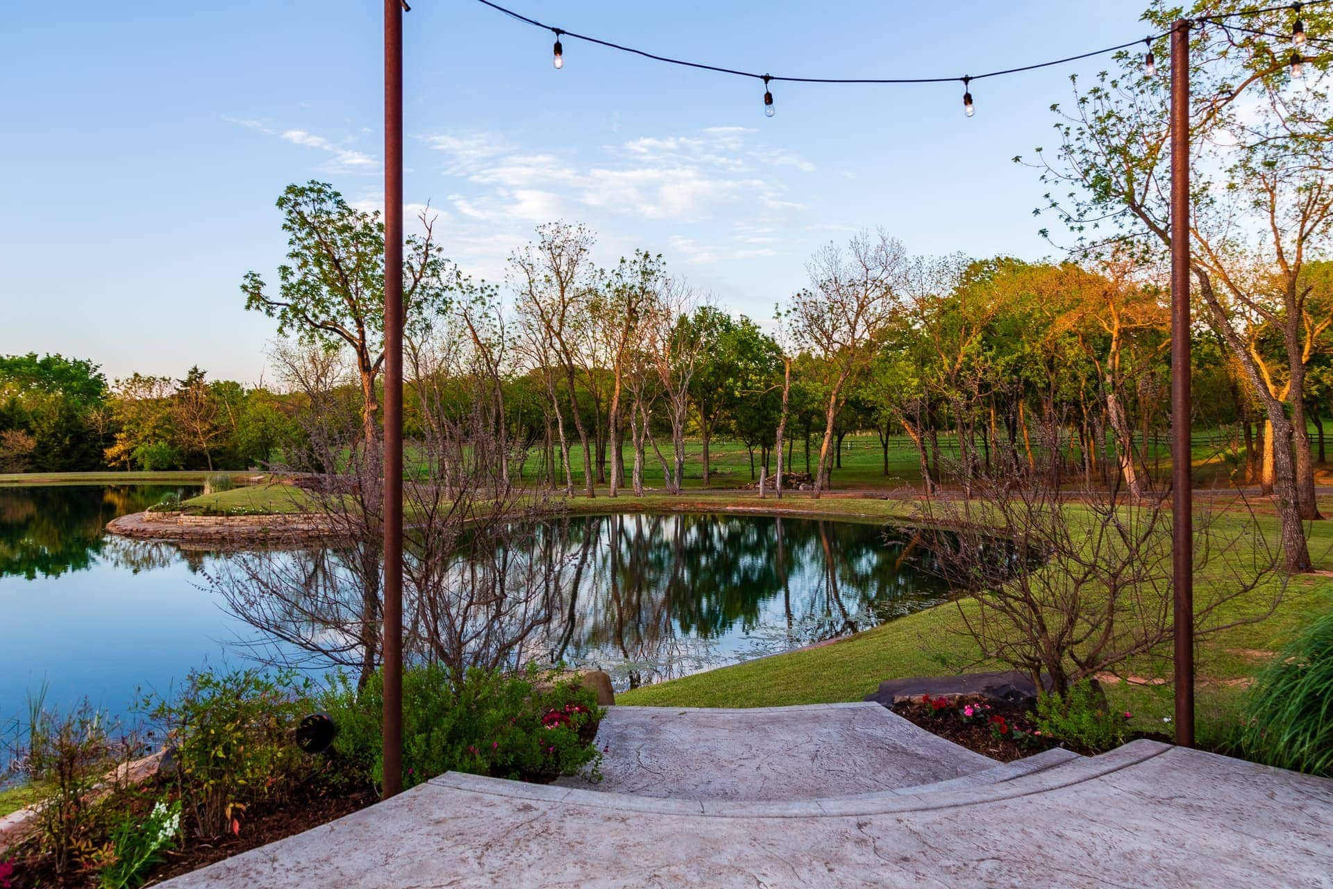Overlooking the Private Lake at Esperanza Ranch