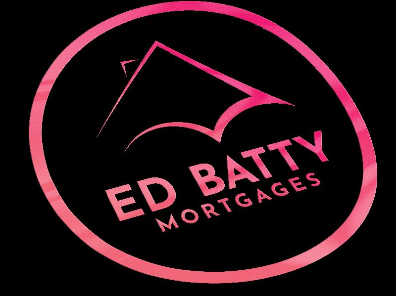 Ed Batty Mortgages sticker design