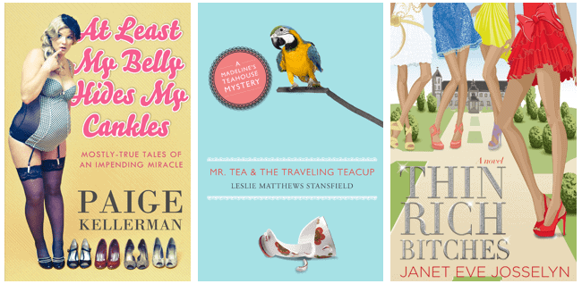 Three Book Cover Designs by Freelance Book Cover Designer Scarlett Rugers