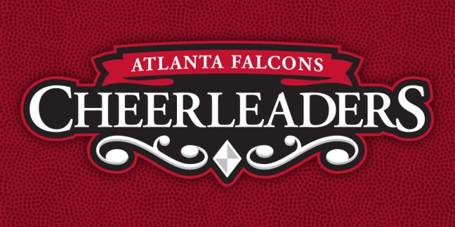 Mark for NFL Atlanta Falcons' Cheerleading Squad by Freelance Sports Identity Designer John Hartwell. Click to visit John's online portfolio!