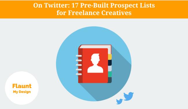 Prospect Lists for Freelance Creatives