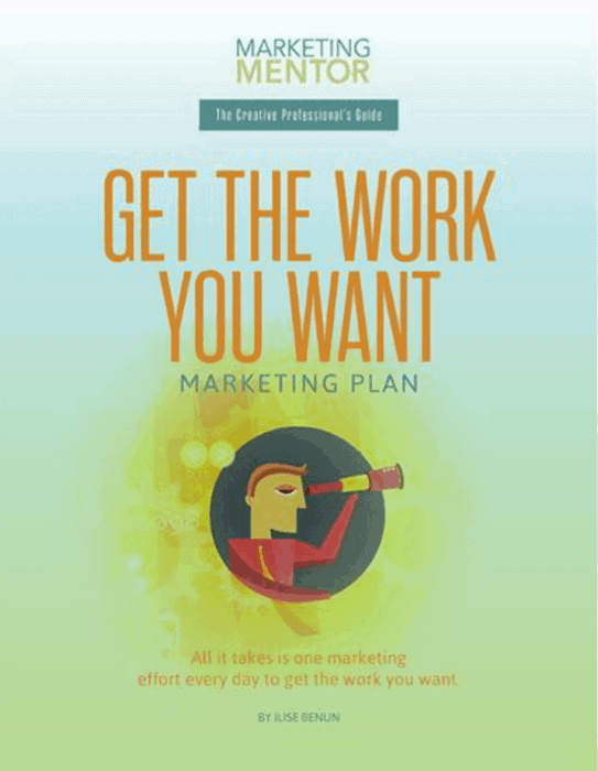 Buy the Get the Work You Want Evergreen Marketing Plan