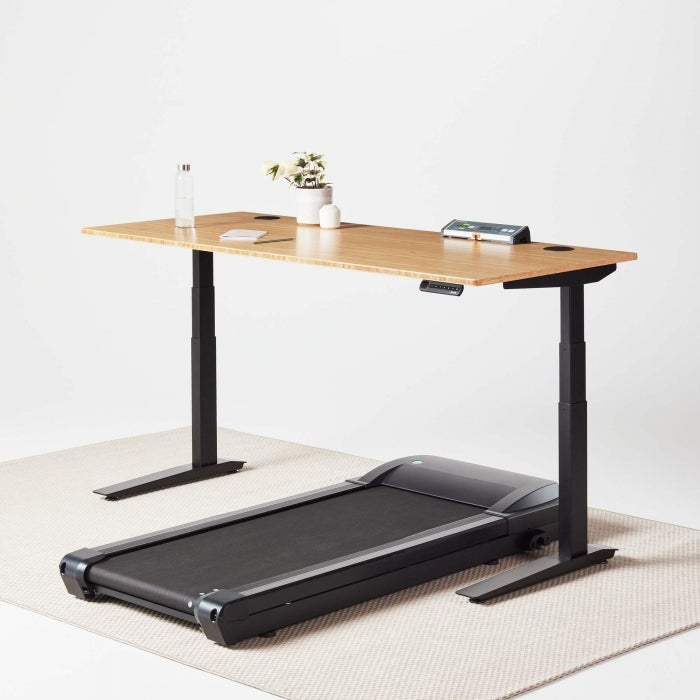 fully jarvis treadmill standing desk lifespan treadmill with jarvis bamboo desk