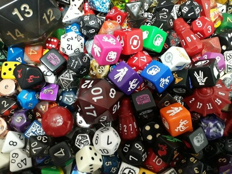 Dice D Game Role D D Rpg  - carufrannco / Pixabay