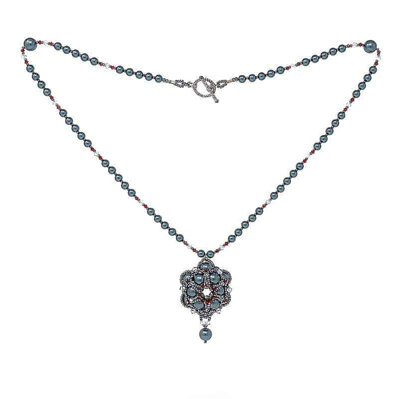 HerMJ.com - Royal Cerulean Necklace