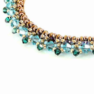 Paradise Swarovski Crystal Bracelet - detail
