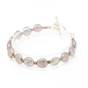 Treasure Coin Pearl Bracelet