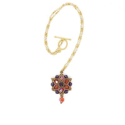 Sydney Swarovski Summer Bloom Necklace - SIDE A