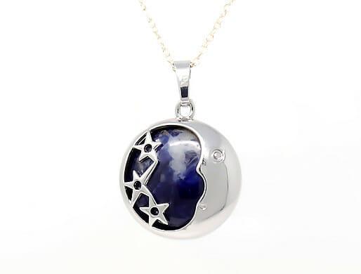 Sodalite Moonstone Pendant Giveaway