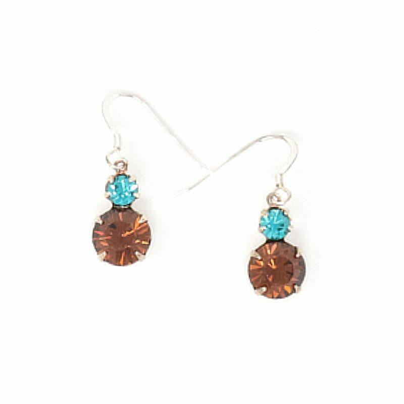 Rockaway Beach Swarovski Crystal Earrings - HerMJ