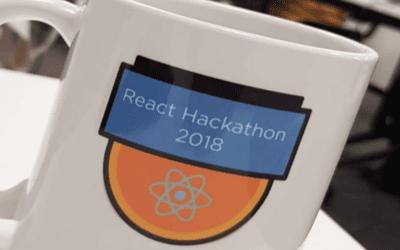 Efficient, energetic, fun: React Hackathon