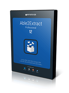 Able2Extract 12 Boxshot