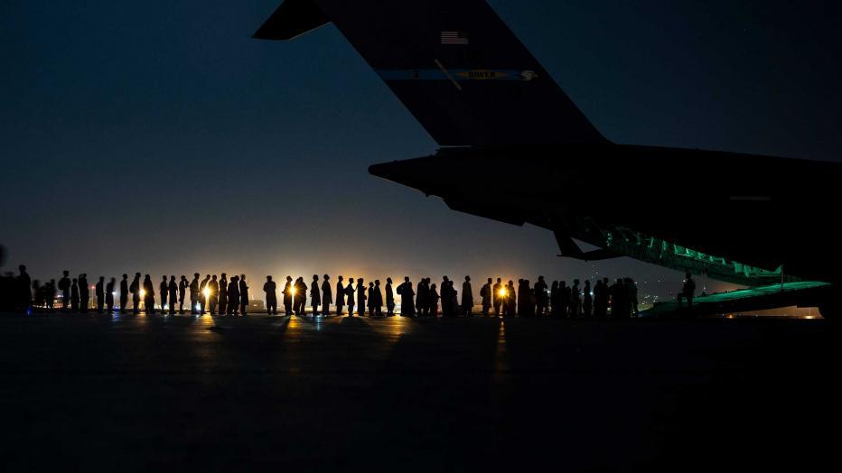 Hamid Karzai International Airport, Afghanistan, Aug. 21, 2021.