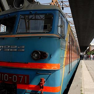 Armenia's rail network provides passenger and freight services as far as Georgia's Black Sea ports. (Photo: Nazik Armenakian)