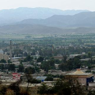 Khost in southeast Afghanistan, where health officials fear a refugee influx could lead to the spread of polio. (Photo: Laura Goodgame, US Air Force.)