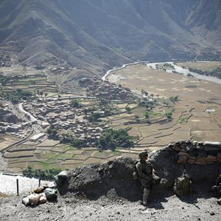 The Kunar river winds 1,000 miles across Afghanistan. (Photo: John Cantlie/Getty Images)