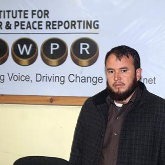 Investigative journalist and IWPR contributor Mohammad Hassan Hakimi. (Photo: IWPR)