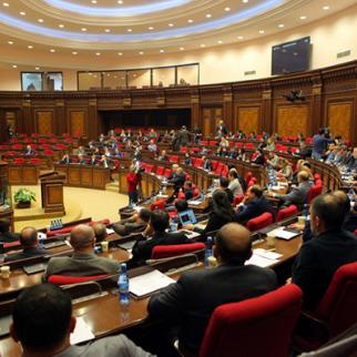 Session in Parliament of Armenia. (Photo: Parliament of Armenia)