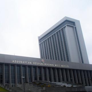 Azerbaijan's parliament. (Photo: Afgan Mukhtarli)