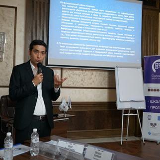 IWPR's second School of Analytics event held in Almaty, 15-21 April 2019. (Photo: IWPR/CABAR)