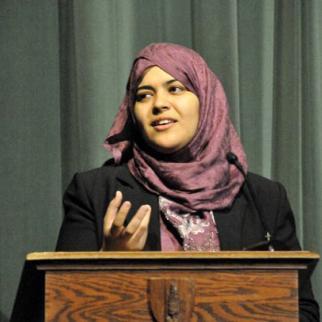 Egyptian rights activist Dalia Ziada. (Photo: D. Ziada)