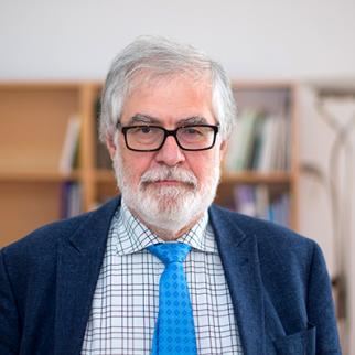 Ghia Nodia, a professor of political science in Georgia's Ilia State University. (Photo courtesy of G. Nodia)