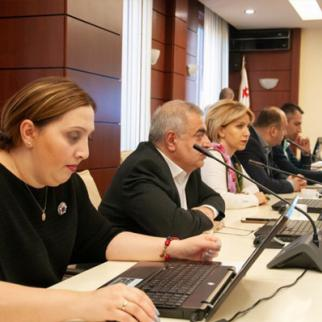 A session of the High Council of Justice. (Photo: Rusudan Machaidze)