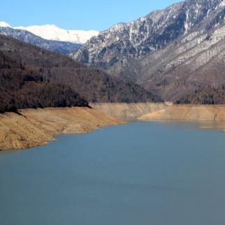 Inguri reservoir. (Photo: Izida Chanya)