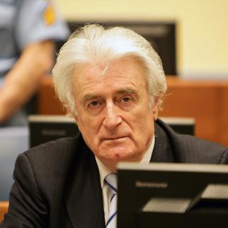 Radovan Karadžić during his trial judgement on 24 March 2016. (Photo: ICTY)