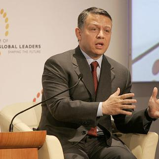 Only a handful of activist have demanded the overthrow of King Abdullah II and the Hashemite monarchy. (Photo: Nader Daoud/World Economic Forum)