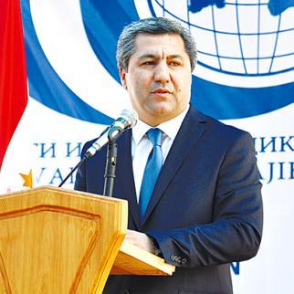 Muhiddin Kabiri, chairman of the Islamic Rebirth Party of Tajikistan. (Photo courtesy of Hikmatullo Saifullozoda)
