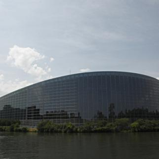 The European Parliament in Strasbourg. (Photo: Michele Tantussi/Getty Images)