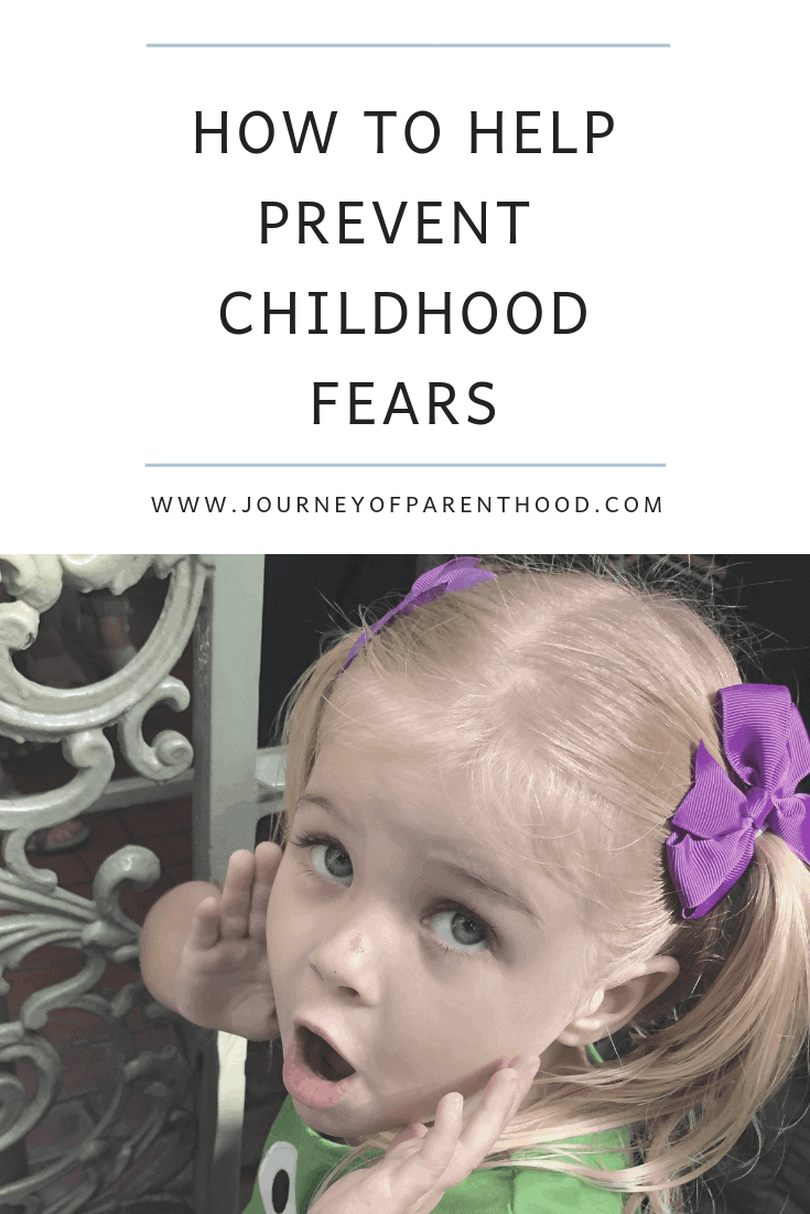 how to prevent childhood fears