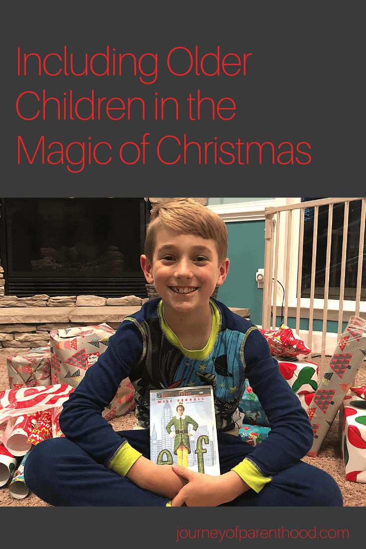 including older children in the magic of christmas
