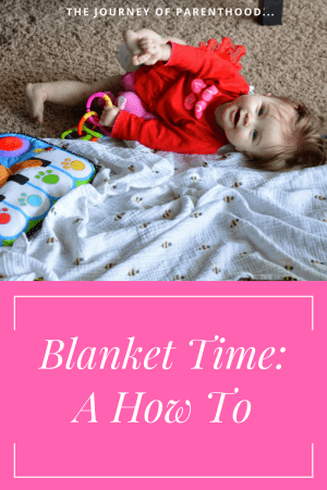blanket time: a how to