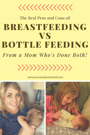 The Reals Pros and Cons of Breastfeeding Vs Bottle Feeding From a Mom Who's Done Both