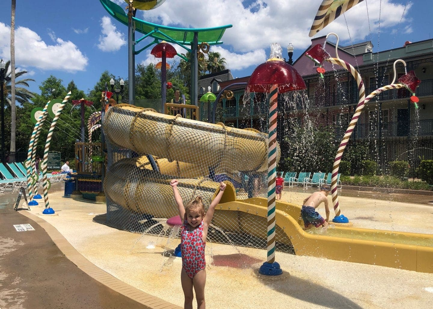 port Orleans French quarter water park