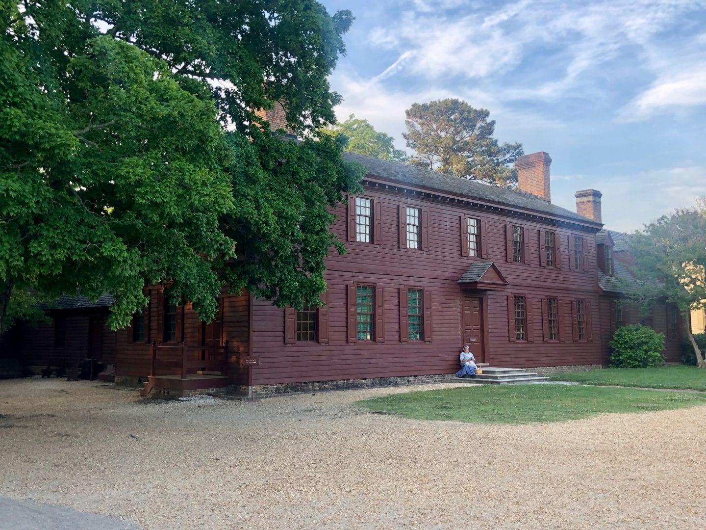 enjoying colonial willamsburg Virginia