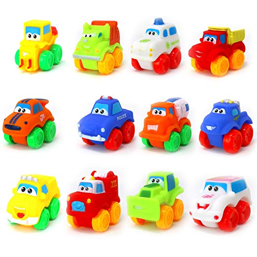 Toys Baby Cars - Soft Rubber Toy Vehicles