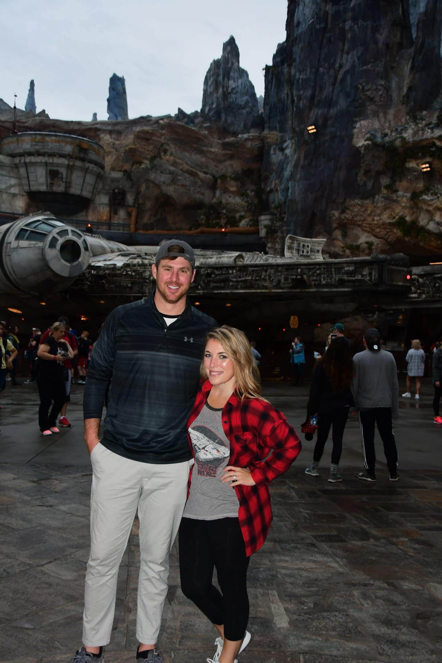 Zach and Emily Christmas Disney Getaway 2019