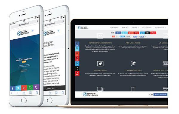 buy wordpress social sharing plugin