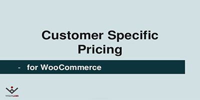 Customer Specific Pricing discount coupon