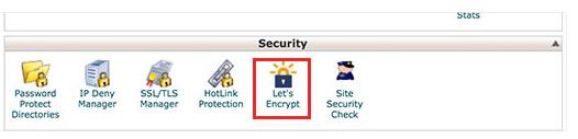 how to add lets encrypt certificate in Siteground