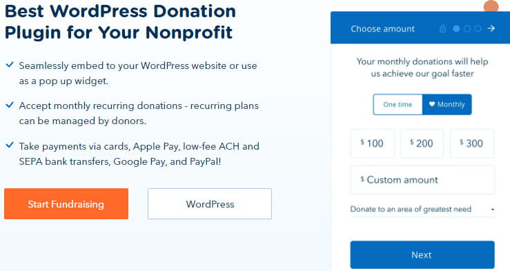 Donorbox pros and cons.
